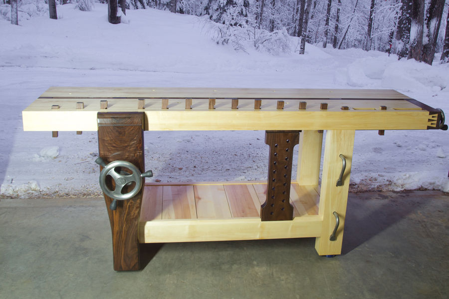 Photo of Roubo Workbench