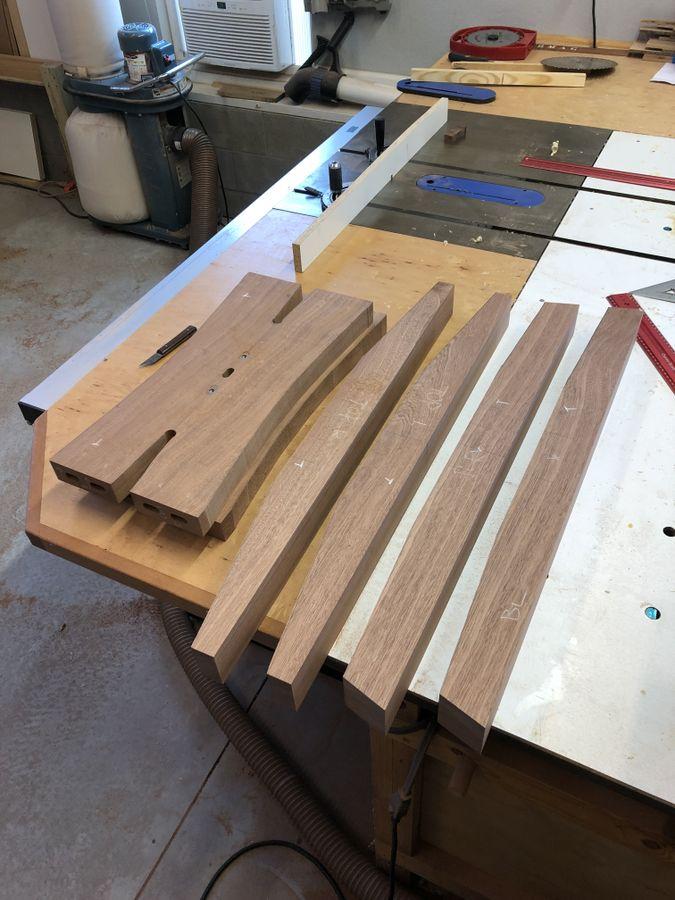 Photo of Sapele Trestle Table