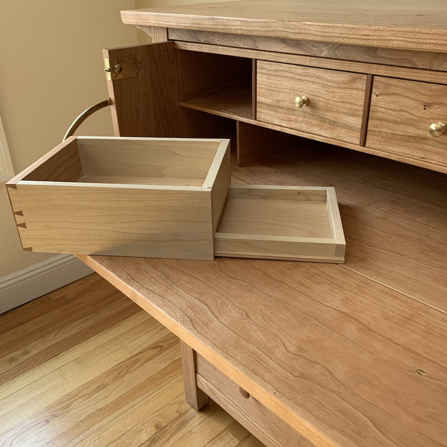 Photo of Chest Of Drawers With Butler'S Desk