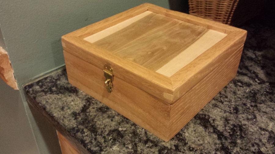 Photo of A Box Of Oak And Maple