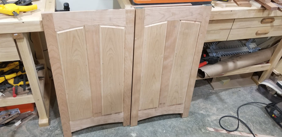 Photo of Cherry and Walnut Dresser
