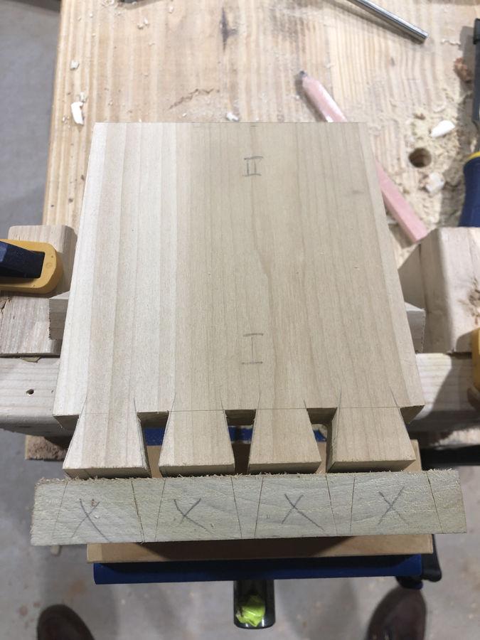 Photo of Dovetailed Keepsake Box