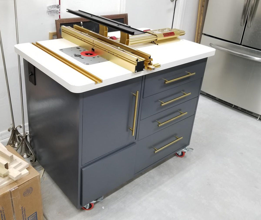 Workshop Router Table By Cygnusa Simplecove