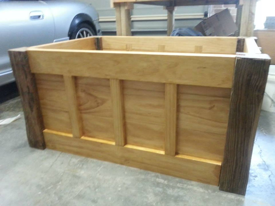 Photo of Large Wooden Storage Chest/Coffee Table