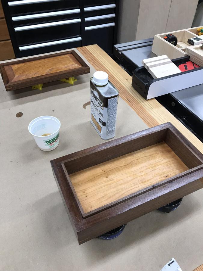 Photo of Cherry and Walnut Box
