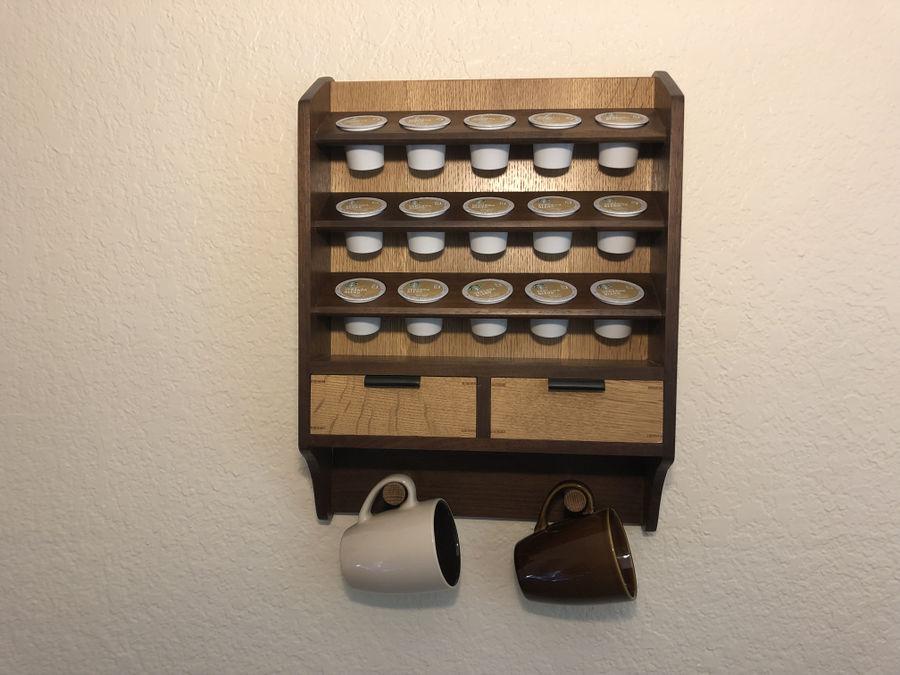 Photo of Keurig Coffee Cup Shelf