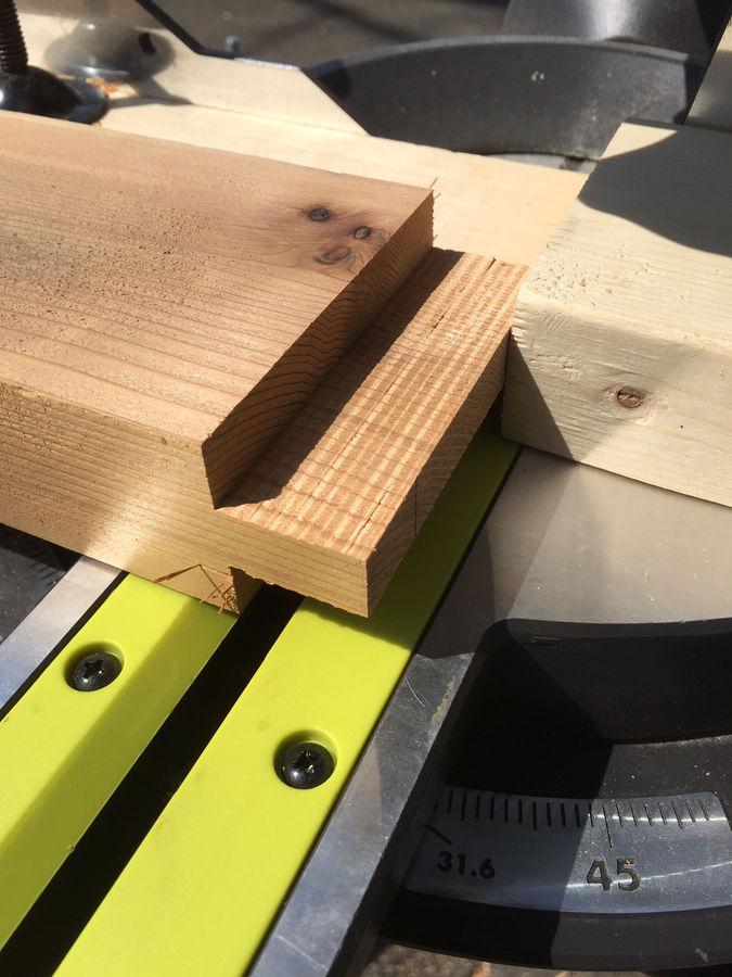 Photo of Outdoor Cedar Patio Table