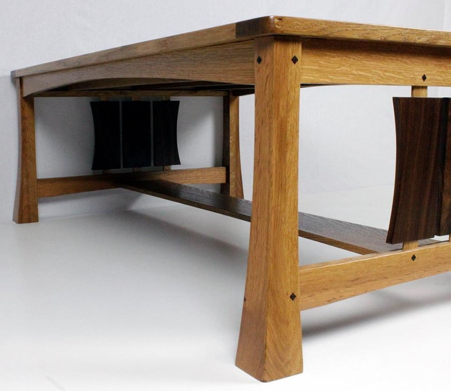 Photo of Arts And Crafts Coffee Table With A Modern Twist