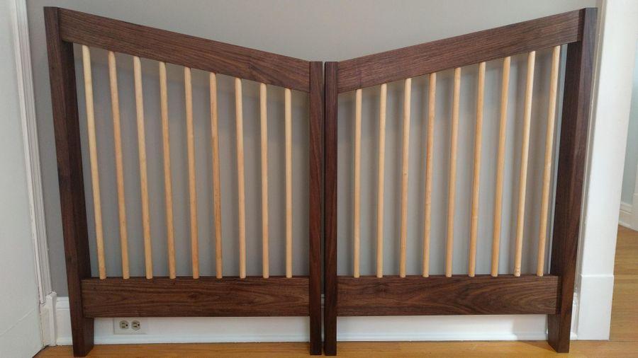 Photo of Walnut And Maple Crib