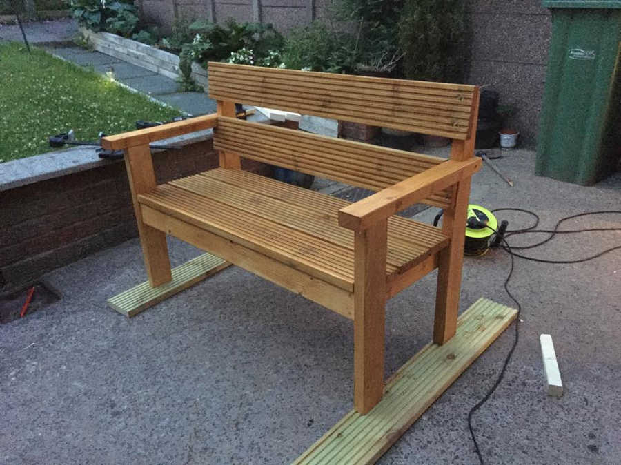Photo of 4ft Garden Bench