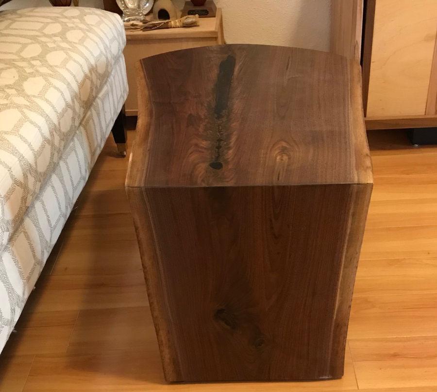 Photo of Waterfall lie-edge coffee table