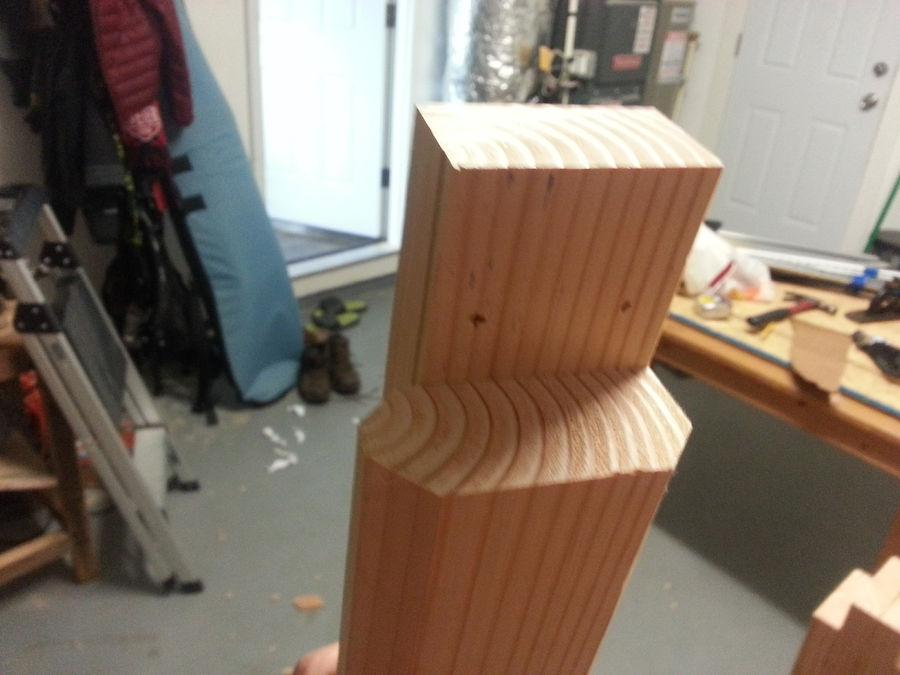 Photo of A Beginners Schwarz-Roubo Workbench.