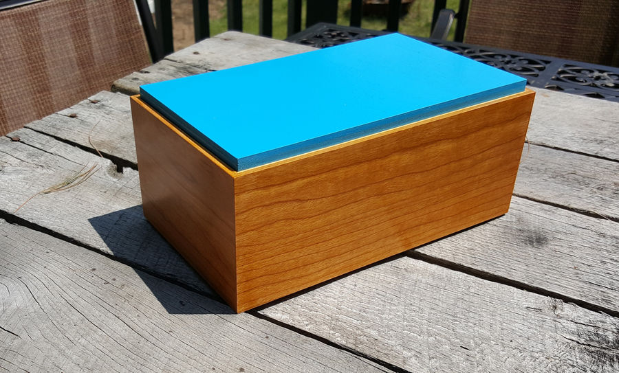 Photo of Mitered Plywood Box