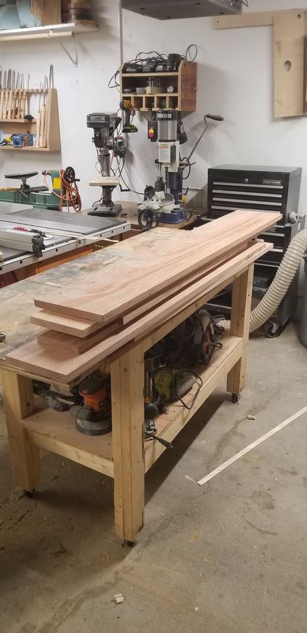 Photo of African Mahogany Entry Table