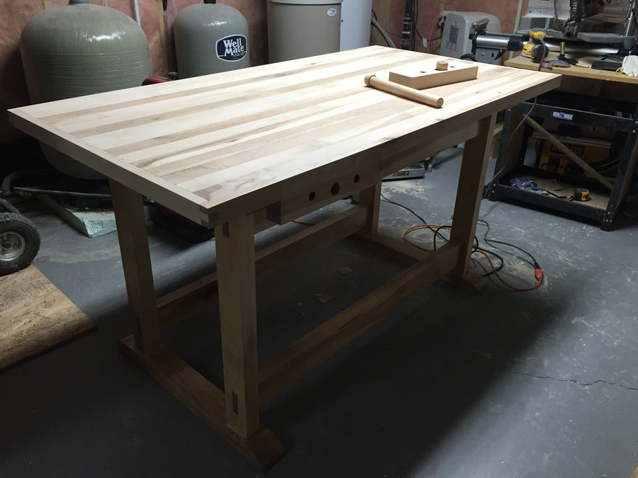 Photo of Trestle Workbench