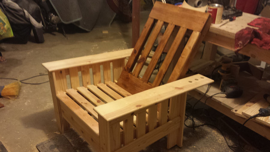 Photo of Outdoor Morris Chair