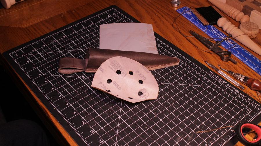 Photo of Vampire Stake & Leather Sheath
