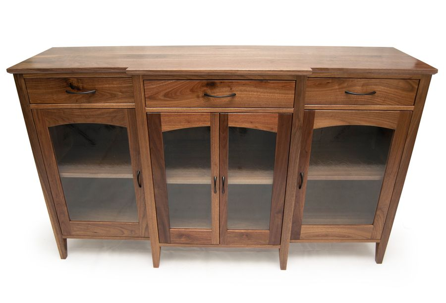 Photo of Walnut Buffet Cabinet