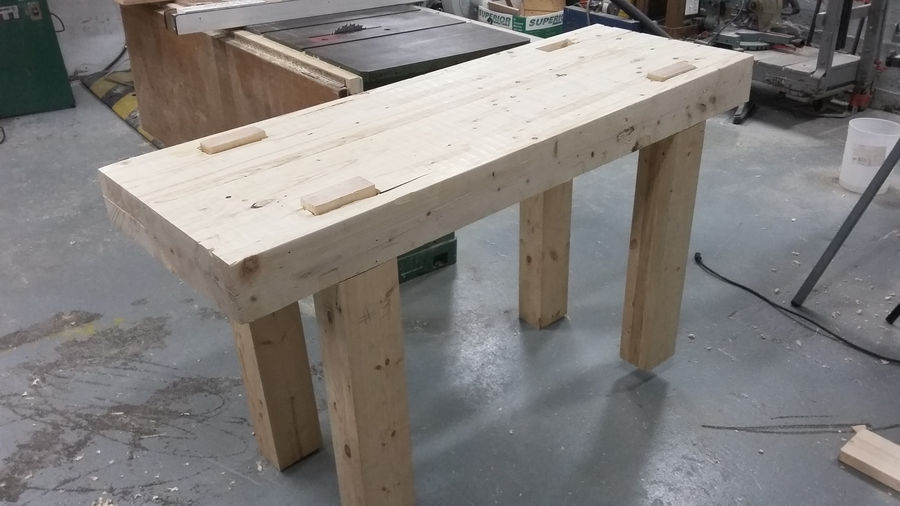 Photo of Workbench For Local Makerspace