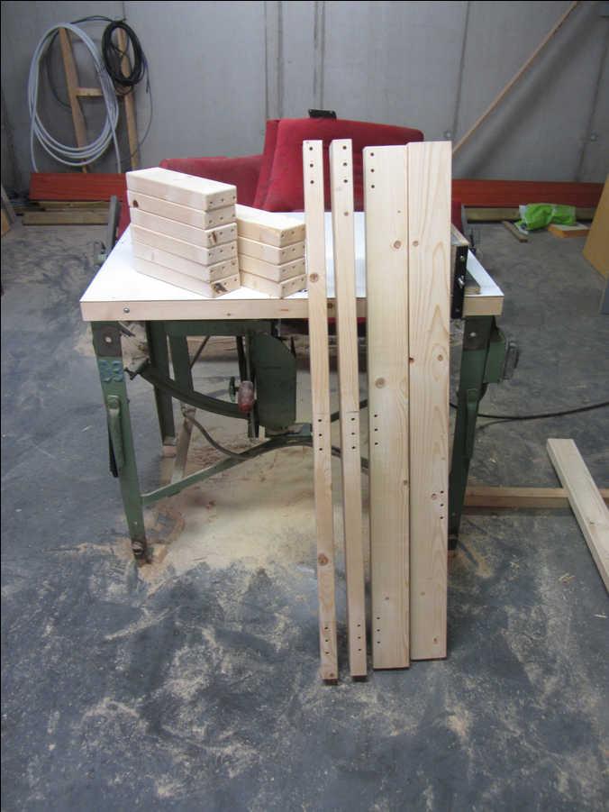 Photo of 40x90 Drill Press Stand