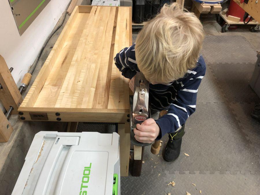 Photo of Kiddos Workbench