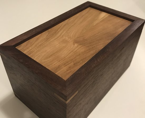 Walnut and Cherry Splined box