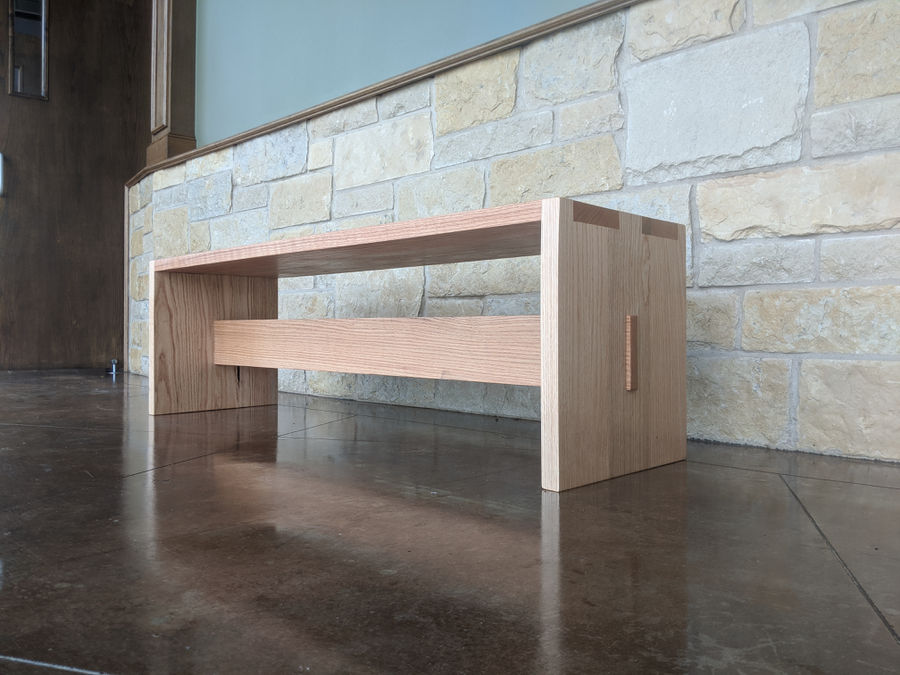 Photo of Red Oak Sitting Benches