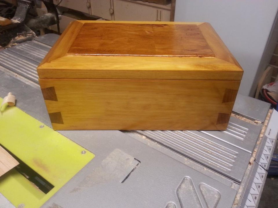 Photo of Dovetailed Boxes