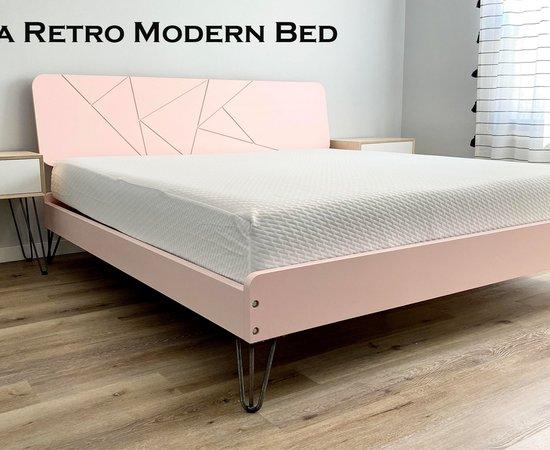 Retro Modern Bed Frame