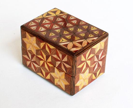 Muku Yosegi Ring Box
