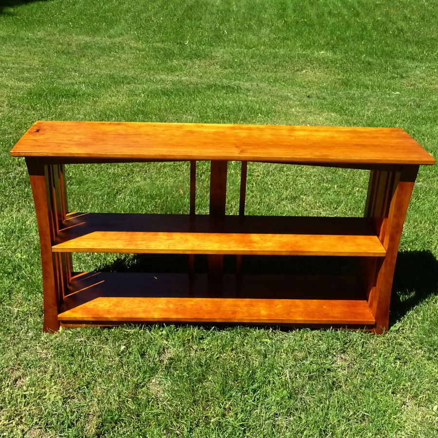 Photo of Mission Bookcase In Cherry