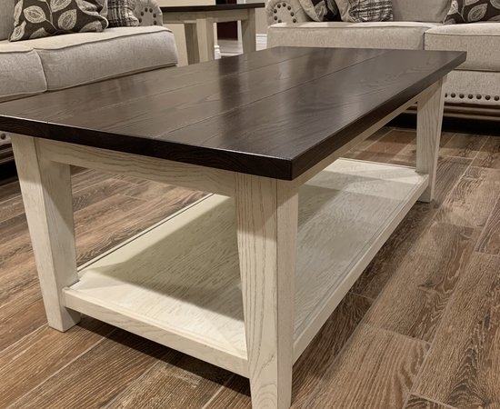 Ash Coffee and End Table