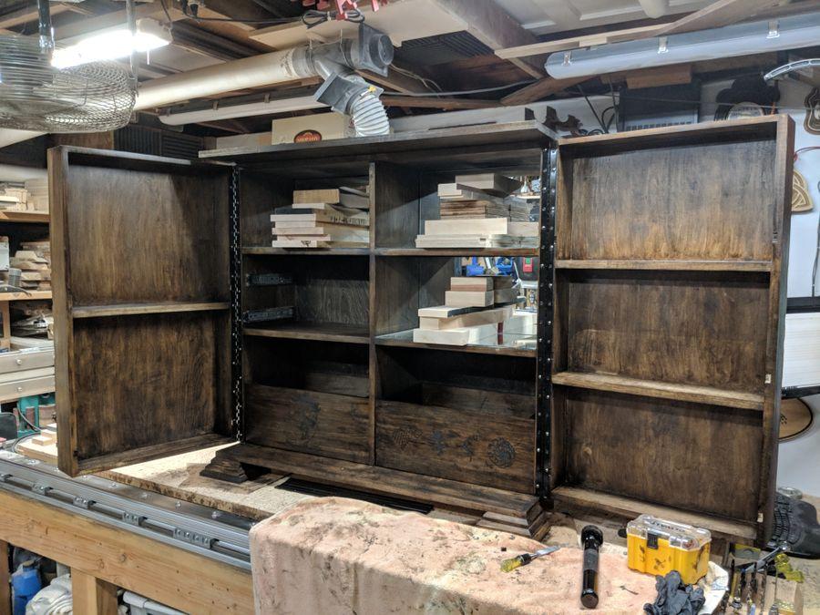 Photo of Custom Liquor Cabinet