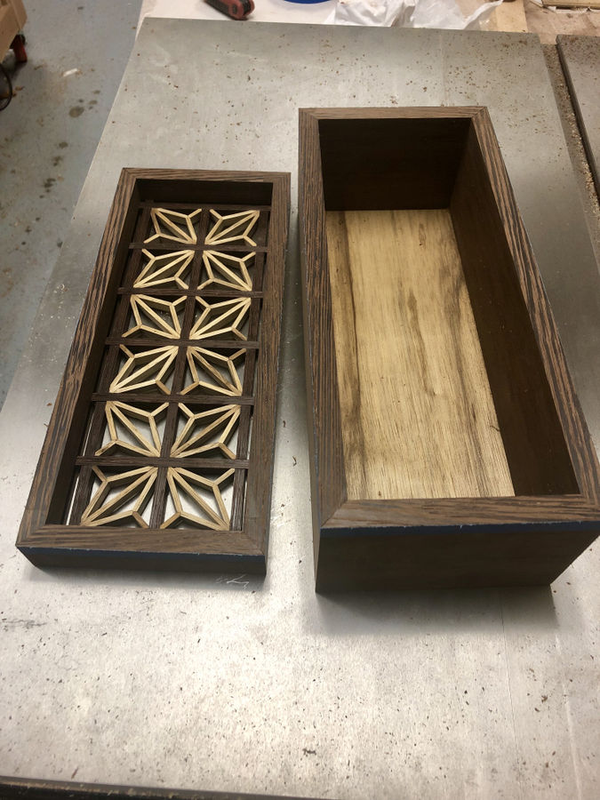 Photo of Wenge And Black Limba Kumiko Box