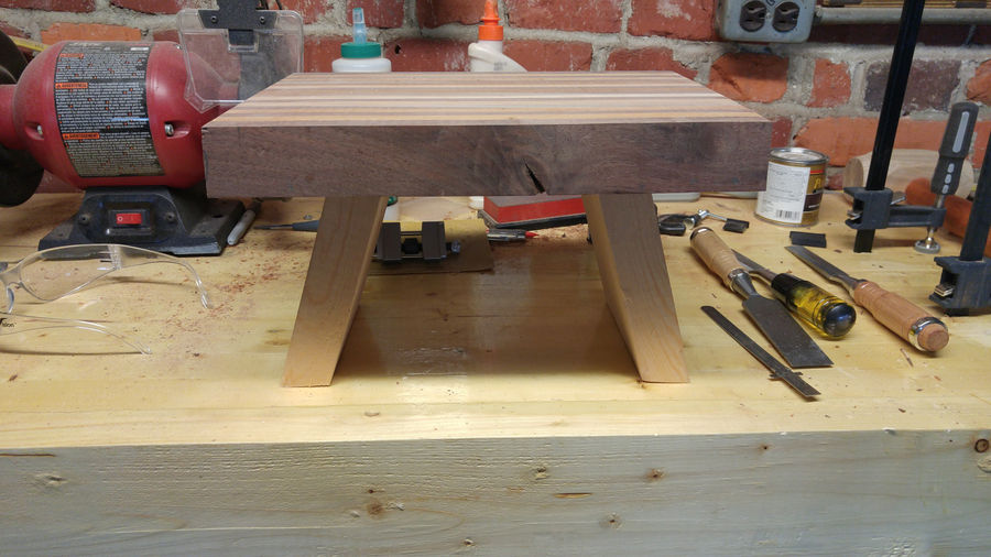 Scrap Wood Challenge Step Stool By Wakaflakaflakes