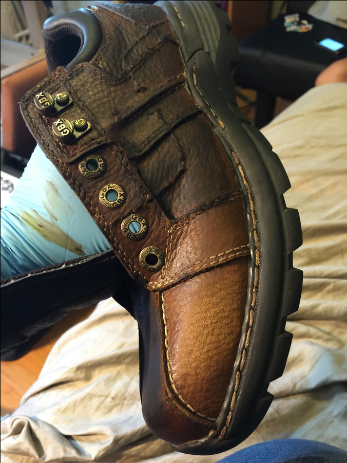 Photo of Aging Leather Shoes