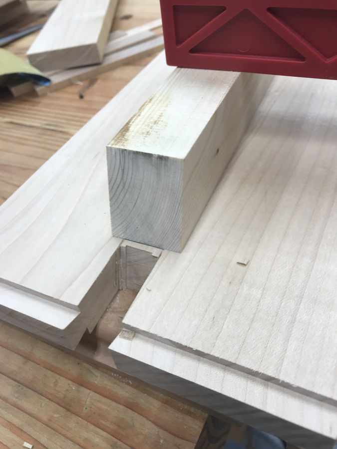 Photo of Sliding dovetail step stool