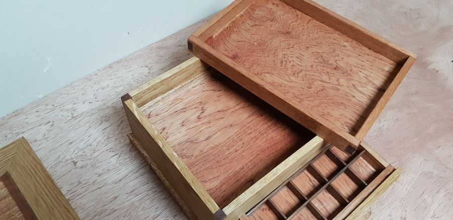 Photo of Dovetailed Jewellery Box