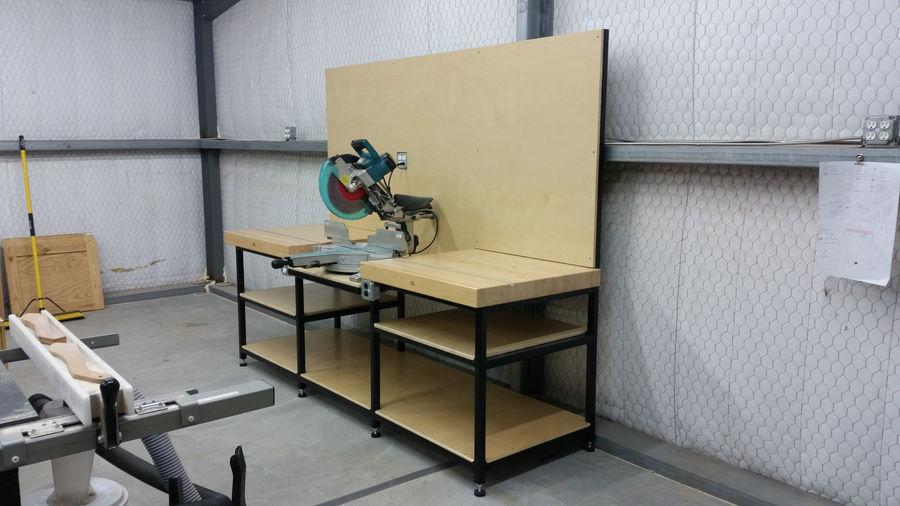 Photo of Miter Saw Workbench