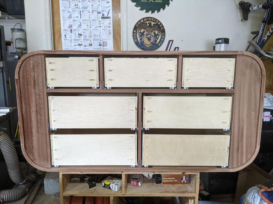 Photo of Sapele baby dresser