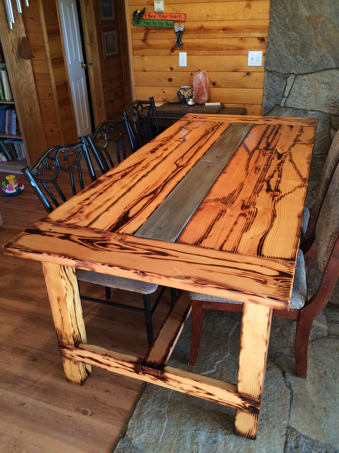 Photo of Dining Room Table And Benches