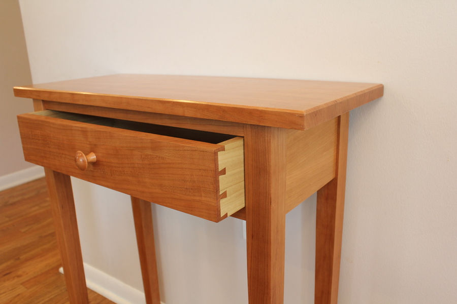 Photo of Shaker entryway table