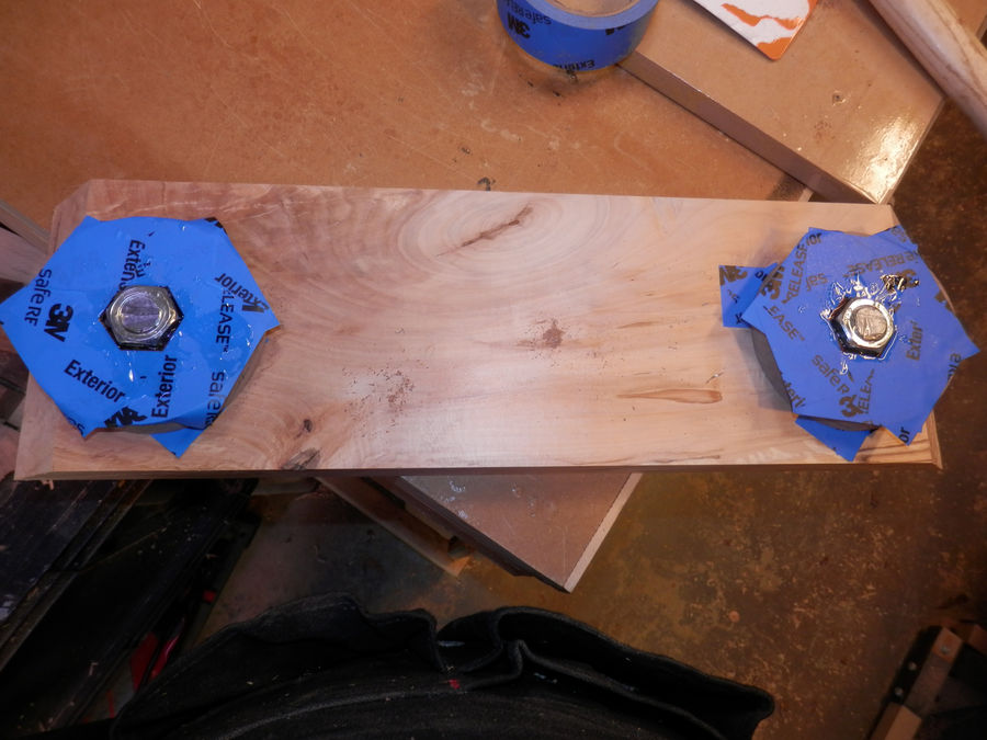 Photo of Work Top For The Tower Of Dowel Power 3 Tool Flip Top Bench
