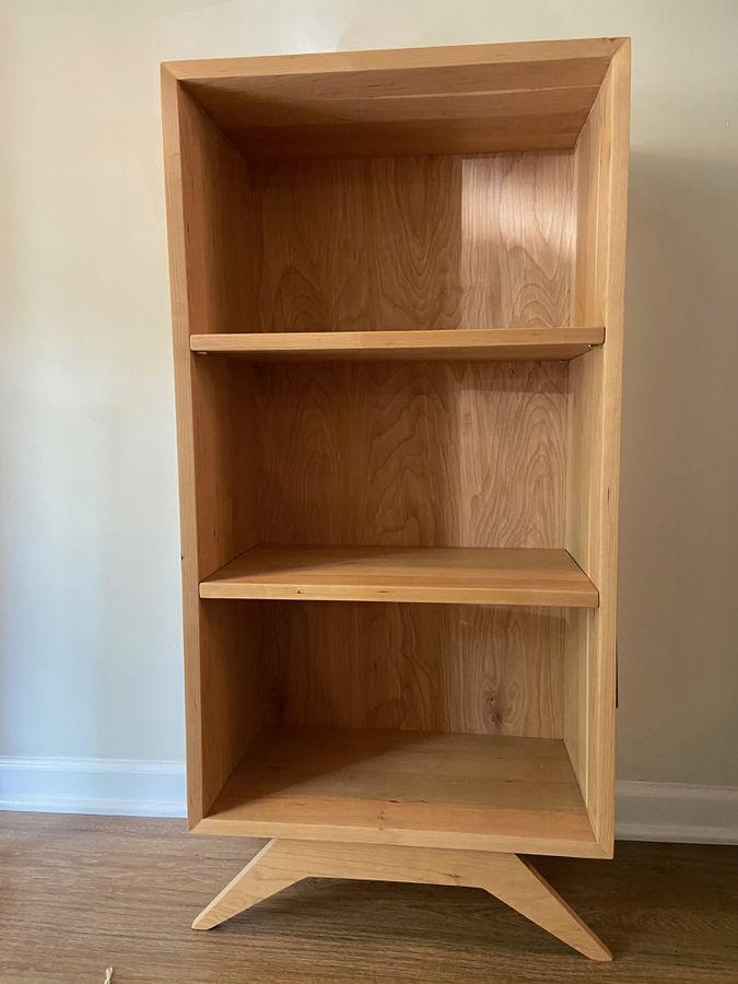 Photo of Cherrywood Mid Century Modern Bookcase