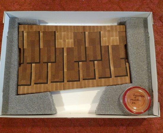 Marimba Cutting Board