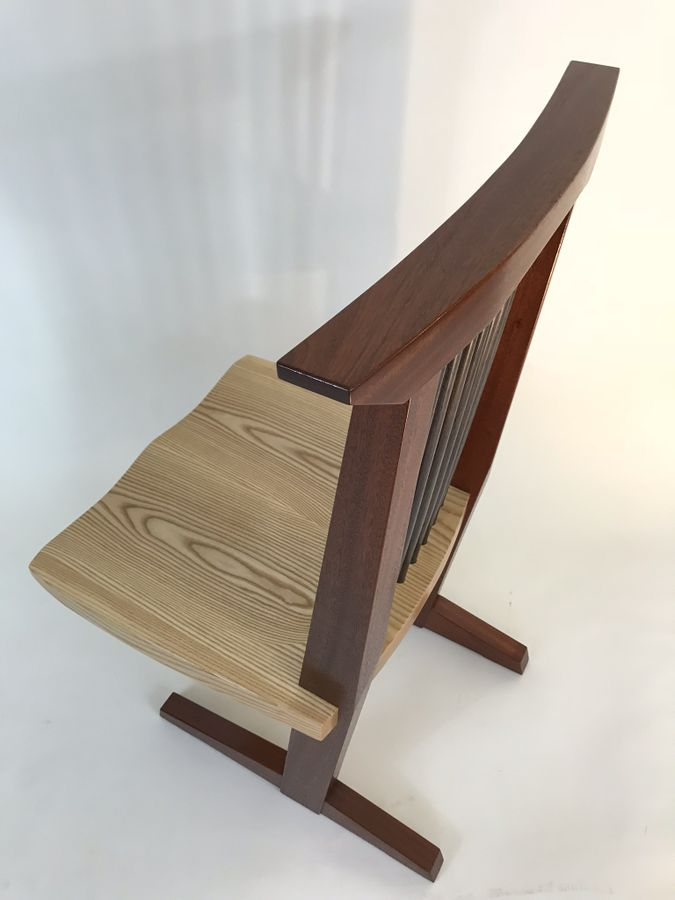 Photo of Nakashima Style Conoid Chair
