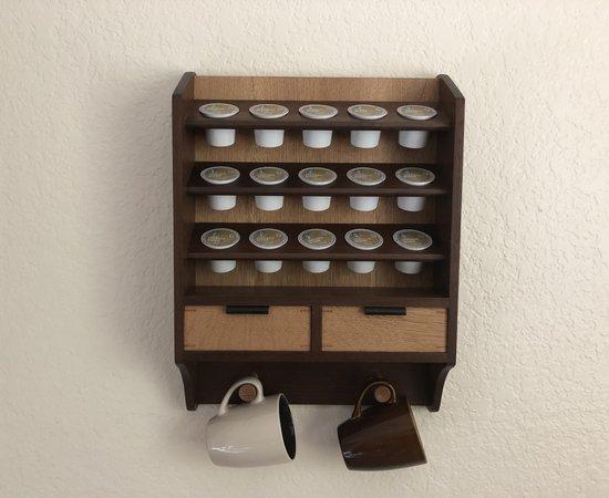 Keurig Coffee Cup Shelf
