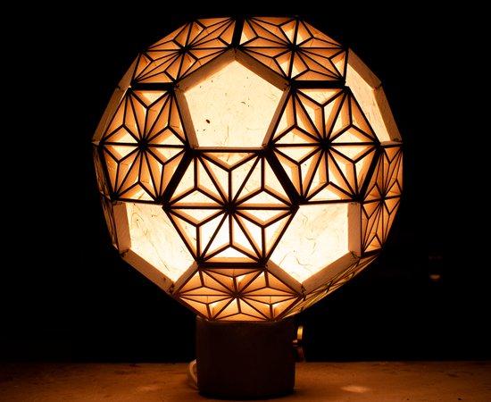 Spherical Kumiko Lamp