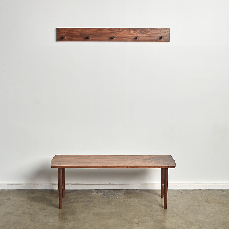 Photo of Entry bench and coat rack