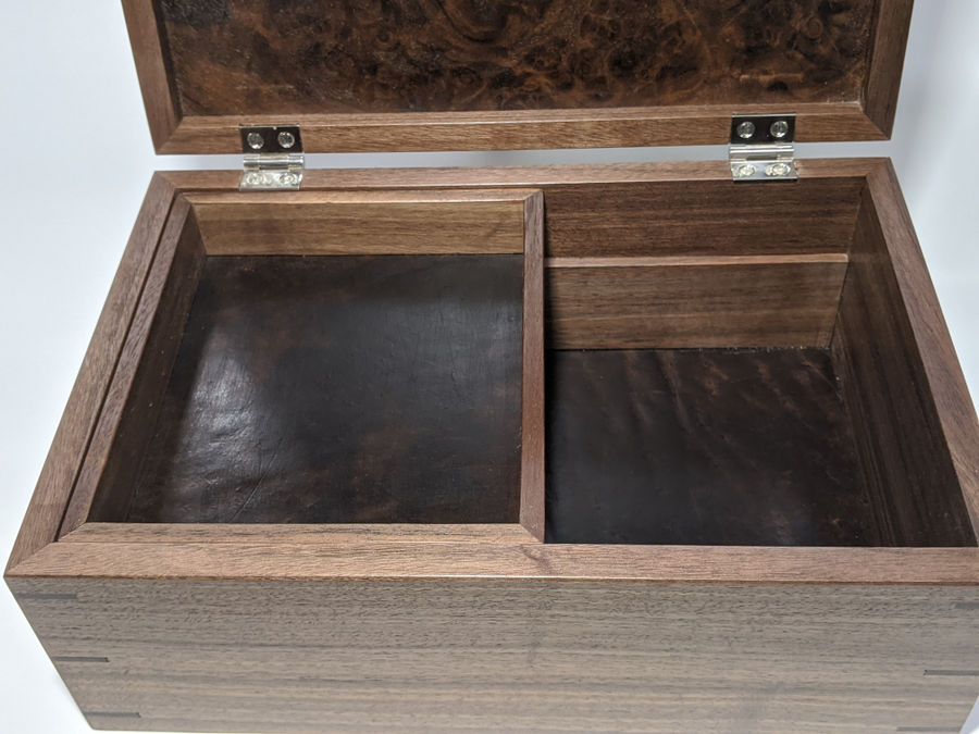 Photo of Walnut keepsake box